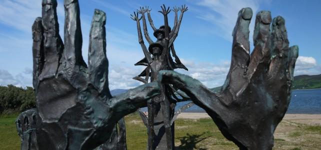 Flight of the Earls Sculpture Rathmullan