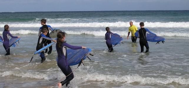 Learn to Surf at Ballyhiernan Bay Fanad