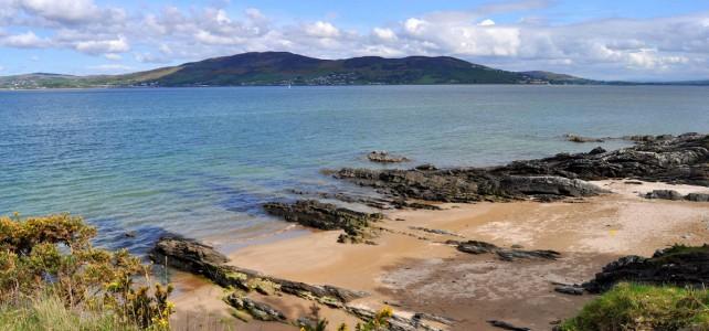 Kinnegar Beach and Lough Swilly