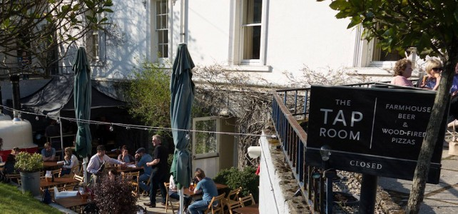 Pizza at the Tap Room at Rathmullan House