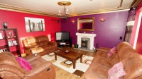 Sea View House Rathmullan Donegal - living room