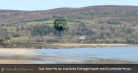 Sea View House Rathmullan Donegal location