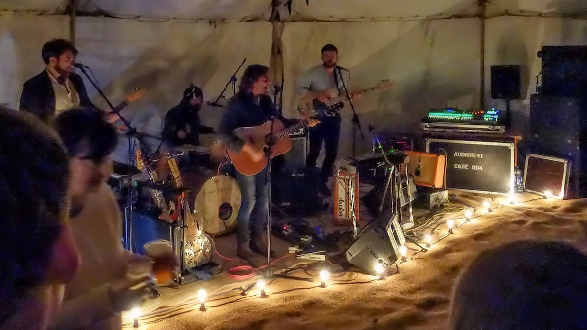 Live on the lawn at Rathmullan House