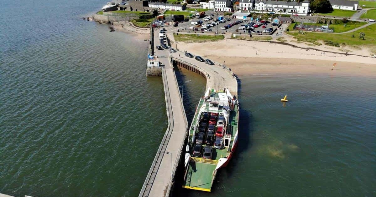 Lough Swilly ferry at Rathmullan pier - David McGloin